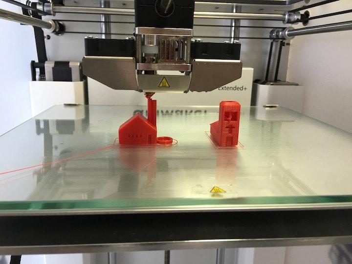 造形活動は3Dプリンターを活用